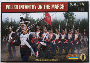 Strelets 1/72 ST0142 Polish Infantry On The March (Napoleonic)